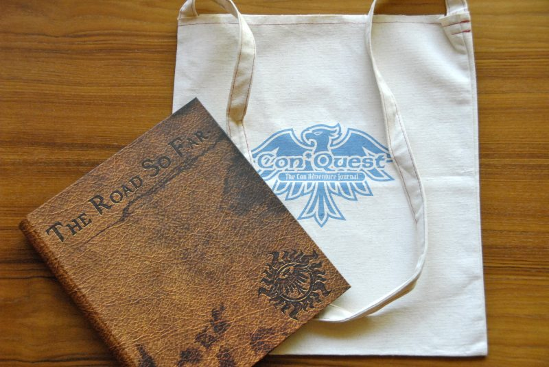 Hunter's Journal and tote bag
