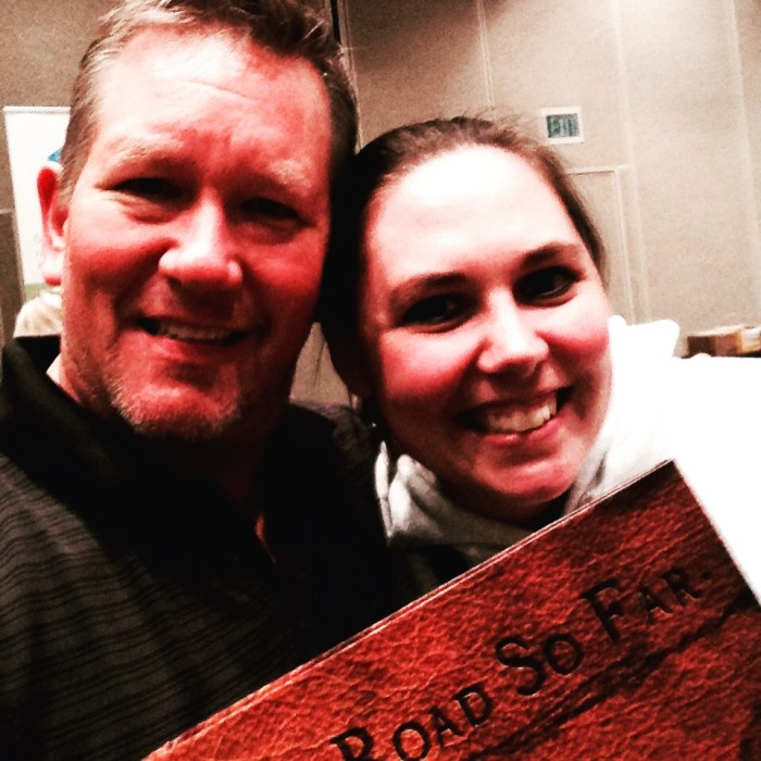 She bought our last journal at Minncon!