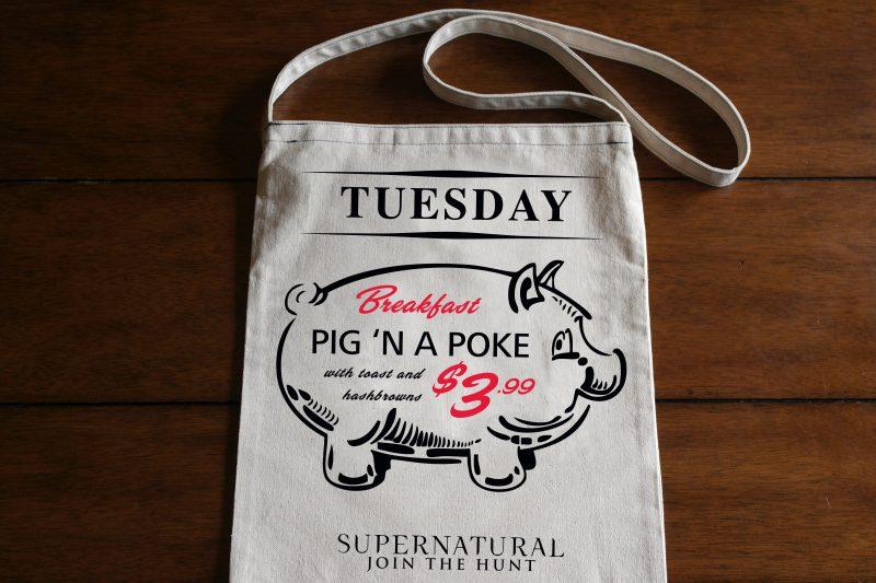 Pig In A Poke Tote Bag