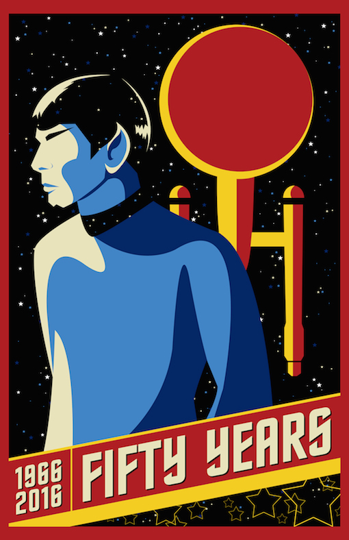 Kickstarter Exclusive Star Trek Poster