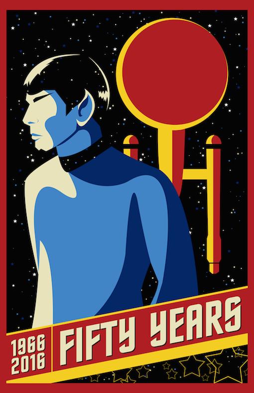 Kickstarter Exclusive Star Trek Poster