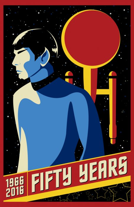 Star Trek sticker for SLCC