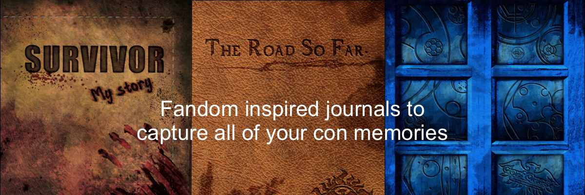 Fandom Inspired Journals
