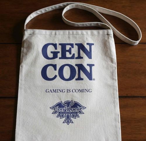 Gen Con canvas tote