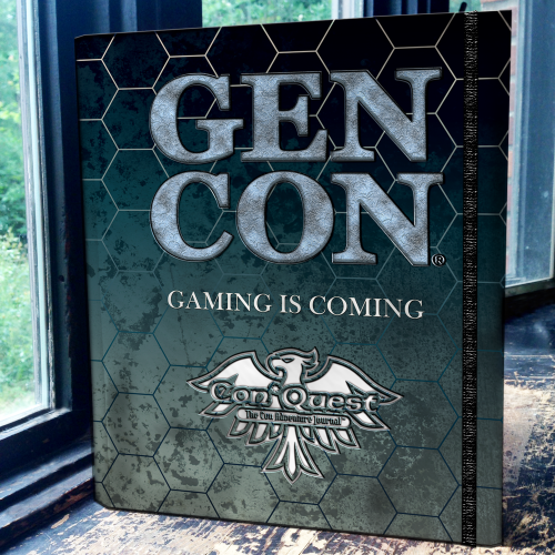 Gen Con Hardback Gamer's Journal