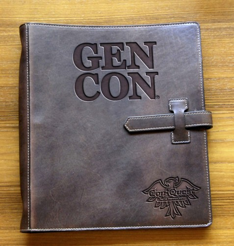 Leather Gen Con Gamer's Journal