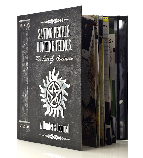 SUPERNATURAL Hunter's Journal with pages